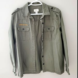 Forever 21 Army Style Shacket
